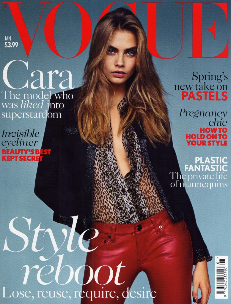 Vogue cover Jan 2014