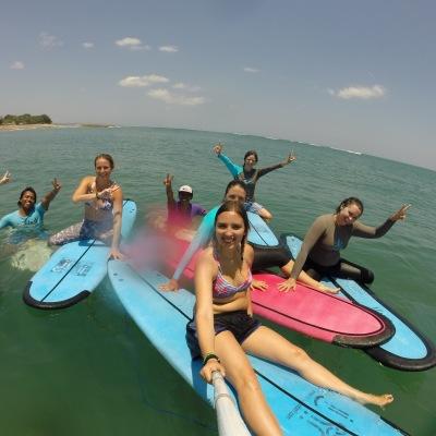 Bali surf yoga